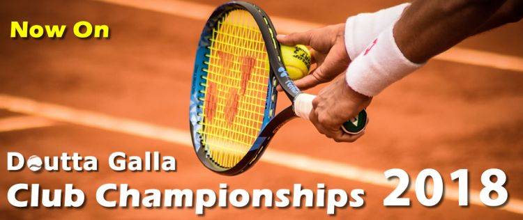 Doutta Galla Club Championships 2018 - Now On