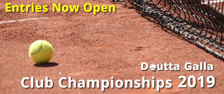Doutta Galla Club Championships 2019 - Entries Now Open